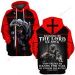 Jesus God Devil blessed be the Lord my rock who trains my hands for war and my fingers for battle  ALL OVER PRINTED SHIRTS 030403