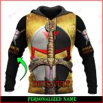 Jesus God Deus Vult Personalized ALL OVER PRINTED SHIRTS 030601