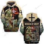 Warrior of Christ a woman of Faith  ALL OVER PRINTED SHIRTS DH0310