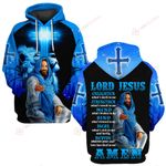 Lord Jesus enlighten what's dark in me Amen  ALL OVER PRINTED SHIRTS DH0321