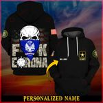 U.S Army Fuh CoronaVirus 3D ALL OVER PRINTED SHIRTS Hoodie 033103