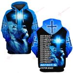 Just walk it Just talk it 3D ALL OVER PRINTED SHIRTS Hoodie 0506100