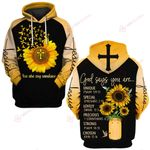 You are my sunshine sunflower God Christian ALL OVER PRINTED SHIRTS DH050904