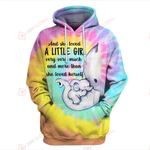 And she love her little girl Elephant Tie Dye Mother 3D ALL OVER PRINTED SHIRTS Hoodie hh0511204