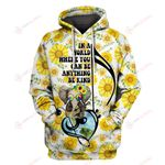 In a world be kind Elephant Music Note Sunflower 3D ALL OVER PRINTED SHIRTS Hoodie hh0511200