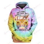 On a dark desert highway a girl and her animals Tie Dye 3D ALL OVER PRINTED SHIRTS Hoodie hh0511201