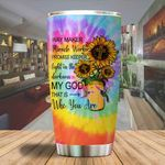 A Way maker micrale worker sunflower Jesus Tumbler ALL OVER PRINTED SHIRTS dh051317