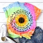 God Jesus Living He loved me Dying He saved me ALL OVER PRINTED SHIRTS hoodie  0512102