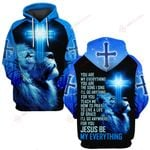 Jesus is be my everything blue lion ALL OVER PRINTED SHIRTS DH051801