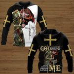 God designed me loves me woman warrior  ALL OVER PRINTED SHIRTS DH051802