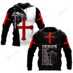 Jesus is my eveything knight Christian God ALL OVER PRINTED SHIRTS DH052304
