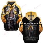 I'm on team Jesus knight Christian God ALL OVER PRINTED SHIRTS DH052306