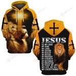 Jesus is my life my all  my everything ALL OVER PRINTED SHIRTS DH052311
