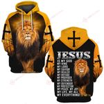 Jesus is my God my King my everything ALL OVER PRINTED SHIRTS DH052310