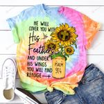 He will cover you with his feathers and under his wings you will find refuge ALL OVER PRINTED SHIRTS hoodie  0523201