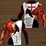 I'm no longer a slave to fear I am a Child of God Jesus Lion  ALL OVER PRINTED SHIRTS DH060503