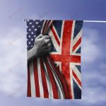 July 4th United Kingdom UK American Flag Expatriates All Over Printed Flag v1 hh0610106