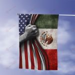 July 4th Mexico American Flag Expatriates All Over Printed Flag v1 hh0610102