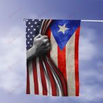 July 4th Puerto Rico American Flag Expatriates All Over Printed Flag v1 hh0610104