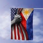 July 4th Phillipines American Flag Expatriates All Over Printed Flag v1 hh0610103