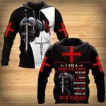 I am a Son of God Christian Knight Jesus ALL OVER PRINTED SHIRTS DH061102
