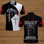 I may not be perfect Jesus knight Christian ALL OVER PRINTED SHIRTS DH061302
