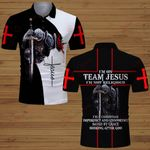 I'm on team Jesus I'm not religious knight Christian ALL OVER PRINTED SHIRTS DH061301