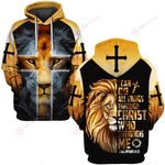 I can do all things through Christ yellow lion ALL OVER PRINTED SHIRTS DH061602