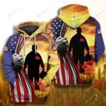 Veteran Flag Memorial Veteran 4th July ALL OVER PRINTED SHIRT 0616201
