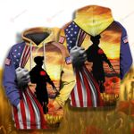 Veteran Flag Memorial Veteran 4th July ALL OVER PRINTED SHIRT 0616200