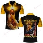 One Nation under God Jesus Christian ALL OVER PRINTED SHIRTS DH061707