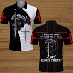 I bow to none other than the Lord Jesus Christ knight Christian ALL OVER PRINTED SHIRTS DH061701