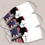 Jesus American Flag Christ God Christian ALL OVER PRINTED g1 DH061711