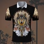 Wolf ALL OVER PRINTED SHIRTS hoodie  0617101