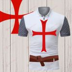 God Knight Templar Outfit Costume ALL OVER PRINTED SHIRT 0618100