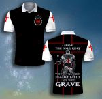 God Knight Templar I served the only king ALL OVER PRINTED SHIRT 0618104