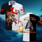 God Knight Templar He who kneels before God ALL OVER PRINTED SHIRT 0618105
