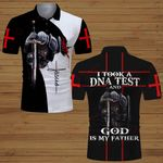 I took a DNA test and God is my Father knight Christian Jesus ALL OVER PRINTED SHIRTS DH061909