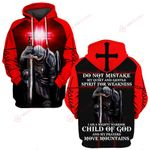 I am a mighty warrior Child of God move moutains knight Christian Jesus ALL OVER PRINTED SHIRTS DH061908