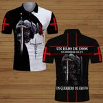 Un hijo de dios Un hombre de fe Un guerrero de cristo ALL OVER PRINTED SHIRTS DH062204