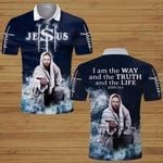 I am the Way and the Truth and the life God Jesus ALL OVER PRINTED SHIRTS hoodie 3d 0622102