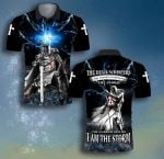 God The warrior replies I am the Storm Thunder ALL OVER PRINTED SHIRT 0622104