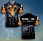 God Thank you Lord Knight Templar Kneeling Lion ALL OVER PRINTED SHIRT 0623104