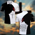 My savior loves My God He was He is He's always going to be Jesus Christ ALL OVER PRINTED SHIRTS DH062304
