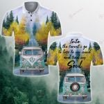 Camping Into the forest I go Campervan Camping Car Forest ALL OVER PRINTED SHIRT 0625101