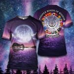 Hippie Whisper the words of wisdom let it Guitar Lake Shadow View ALL OVER PRINTED SHIRT 0627107