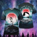 Hippie She dreams of the ocean Bright Galaxy Mermaid ALL OVER PRINTED SHIRT 0627101