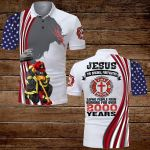 Jesus the original Firefighter saving people from burning for over 2000 years ALL OVER PRINTED SHIRTS hoodie 3d 0629106