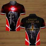 Knight Templar Jesus Christ Christian red cross  ALL OVER PRINTED SHIRTS DH063002