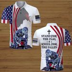 US Police Officer Stand for the Flag kneel for the Fallen ALL OVER PRINTED SHIRTS hoodie 3d 0630666